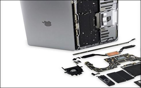 Một số chi tiết phần cứng của MacBook Pro 13 là vấn đề đau đầu đối với các nhà nghiên cứu. (Ảnh: cnetfrance)