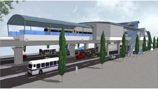 Phối cảnh nhà ga tuyến metro số 5 giai đoạn 2