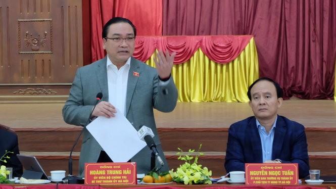 Bí thư Thành ủy Hoàng Trung Hải