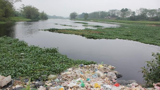 Ô nhiễm sông Đáy (Ảnh minh họa)
