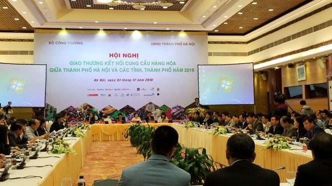 Hội nghị có sự tham dự của nhiều lãnh đạo tỉnh, thành và các doanh nghiệp.