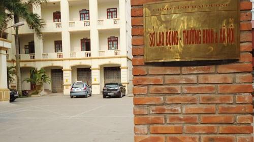 Trụ sở Sở LĐ-TB&XH Hải Dương.