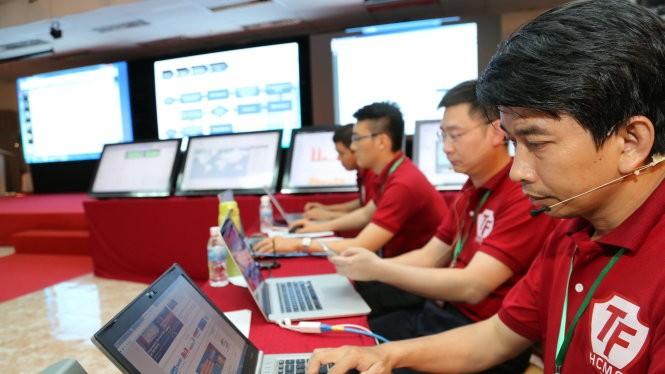 Một buổi diễn tập bảo vệ hệ thống thông tin được tổ chức tại TP.HCM