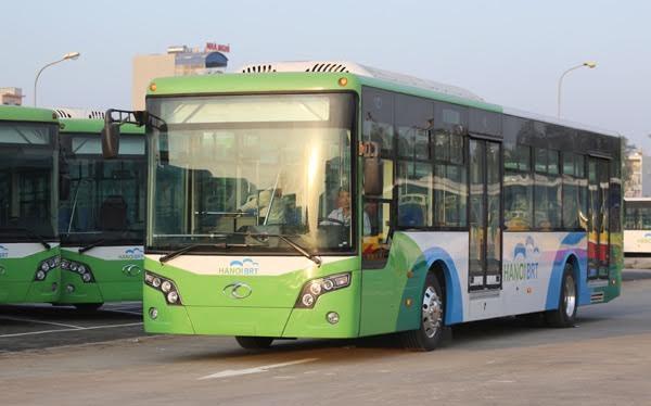 Buýt nhanh BRT Hà Nội sẽ chính thức hoạt động từ ngày 01/01/2017.