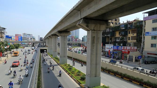 Tuyến đường Nguyễn Trãi, Trần Phú, Quang Trung.