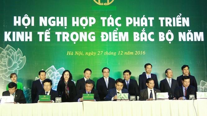 Hội nghị hợp tác phát triển vùng kinh tế trọng điểm Bắc Bộ năm 2016