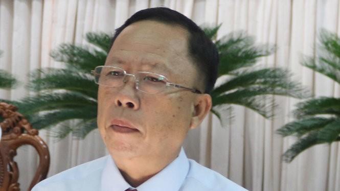Bí thư tỉnh ủy Hậu Giang Trần Công Chánh bị kỷ luật khiển trách liên quan đến việc đề nghị tiếp nhận ông Trịnh Xuân Thanh.