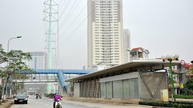 Hợp phần buýt nhanh (BRT) thuộc dự án Đầu tư phát triển giao thông đô thị Hà Nội được vay từ nguồn vốn ODA (Ảnh minh họa)