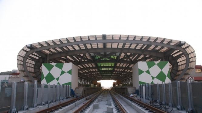 Cơ bản hoàn thành phần xây dựng hạ tầng chạy tàu.