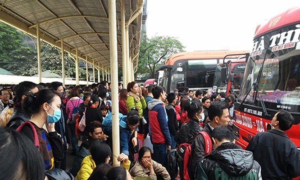 Nhiều nhà xe không vận tải hành khách tại bến xe Mỹ Đình