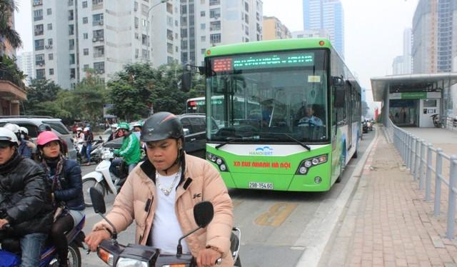Theo quy hoạch đến năm 2030 Hà Nội sẽ có 8 tuyến buýt nhanh BRT.