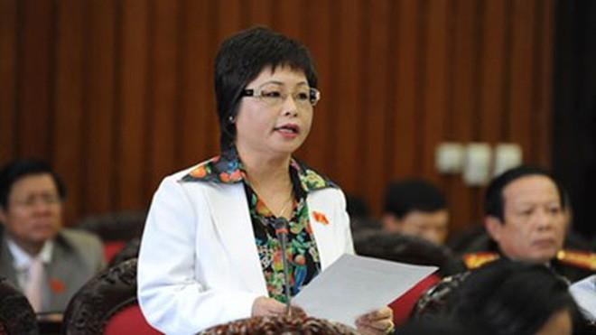 Bà Châu Thị Thu Nga, nguyên Đại biểu Quốc hội khoá XIII.