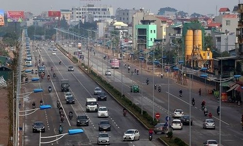 Việc đầu tư cơ sở, hạ tầng của Hà Nội thời gian qua là rất lớn.