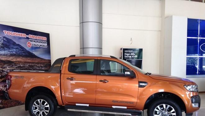 Ford Ranger là mẫu bán tải nhập Thái khá thành công tại thị trường Việt Nam.
