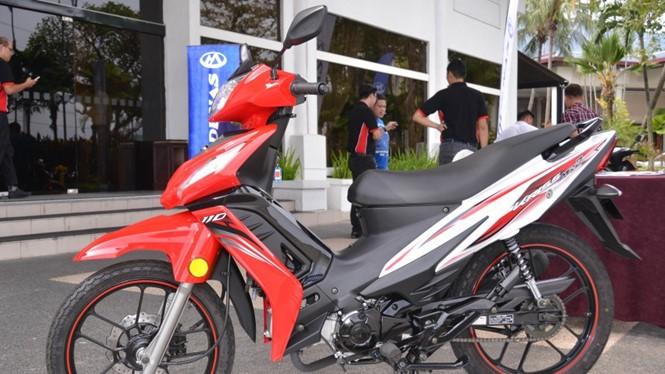 Modenas Kriss MR2 - mẫu xe số mới nhất của hãng xe Malaysia