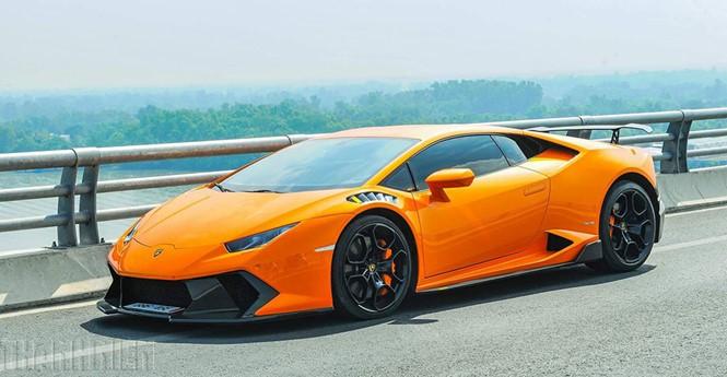 Lamborghini Huracan độ Vorsteiner cực chất của dân chơi Sài Gòn - Ảnh SHT