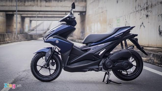 Yamaha NVX 125 đối thủ cạnh tranh của Honda Air Blade