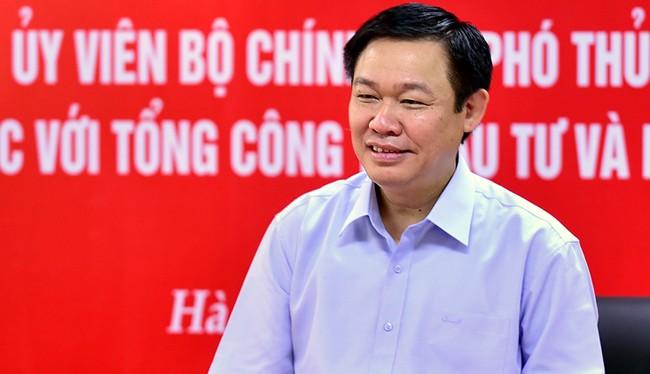 Phó Thủ tướng Chính phủ Vương Đình Huệ.