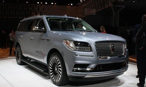 Lincoln Navigator 2018 trình làng tại triển lãm xe hơi đang diễn ra tại New York, Mỹ.