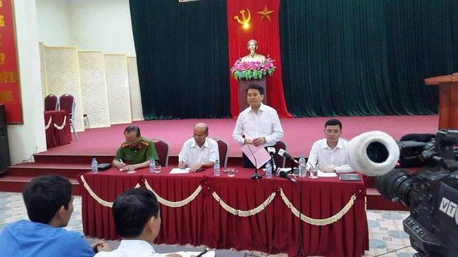 Buổi đối thoại giữa Chủ tịch UBND TP. Hà Nội Nguyễn Đức Chung chiều 20/4 vắng bóng người dân Đồng Tâm, Mỹ Đức.