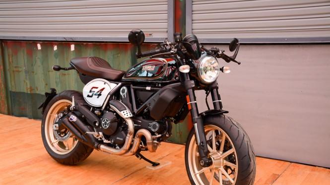 Ducati Scrambler phong cách Cafe Racer tại Việt Nam