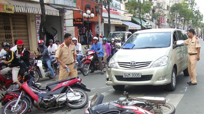 Vi phạm tốc độ là một trong những nguyên nhân chính gây tai nạn giao thông tại Việt Nam.