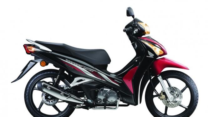 Honda Wave 125i phiên bản 2017 vừa được bán ra tại Malaysia