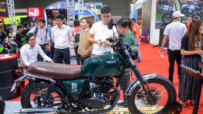 Các mẫu mô tô Brixton giới thiệu tại Việt Nam được nhập khẩu từ Trung Quốc