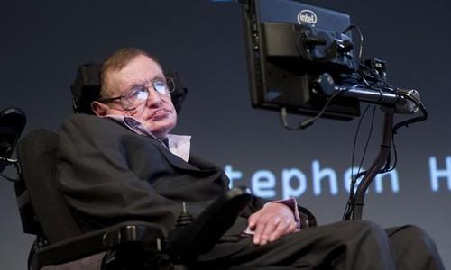 Ông hoàng Vật lý Stephen Hawking. Ảnh: AFP.