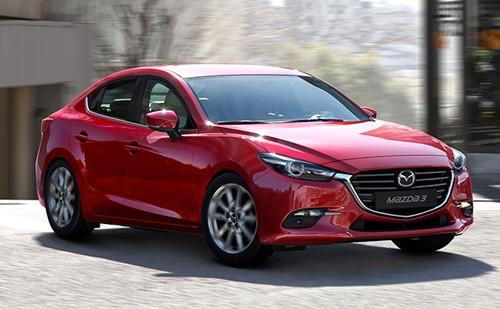 Mazda3 mới ở nước ngoài.