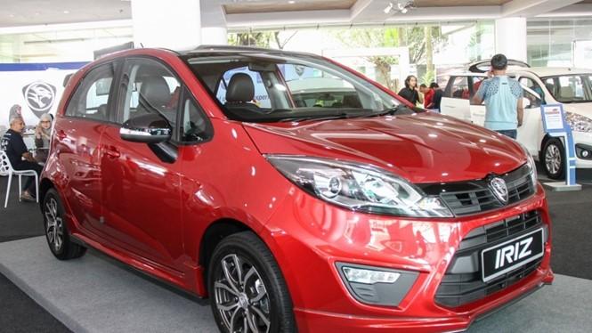 Mẫu xe Proton Iriz phiên bản 2017