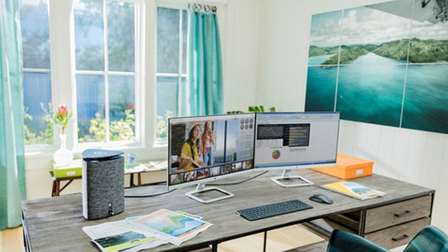 Màn hình máy tính HP 24es/24er - một lựa chọn tuyệt vời cho công việc.