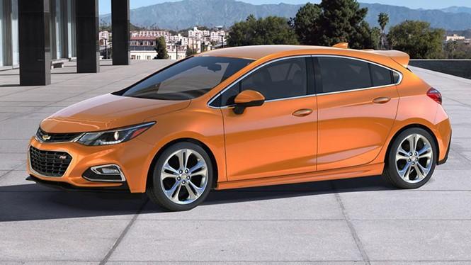 Bản hatchback của Chevrolet Cruze 2017 dành cho thị trường Mỹ