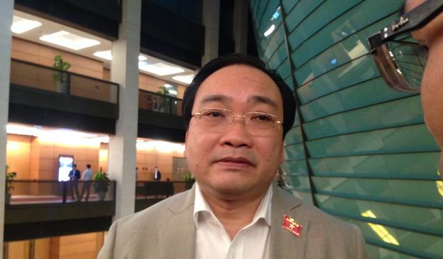 Ông Hoàng Trung Hải, Bí thư Thành ủy Hà Nội.
