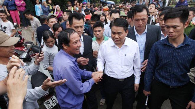 Thanh tra Chính phủ cho rằng, đã phối hợp, đề nghị với Hà Nội giải quyết vụ việc xảy ra tại Đồng Tâm, Mỹ Đức theo thẩm quyền.