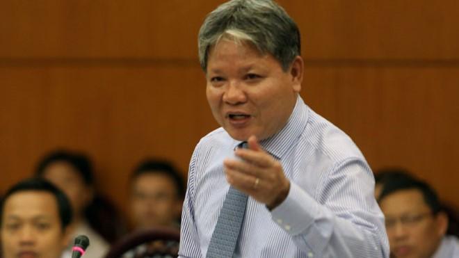 Nguyên Bộ Trưởng Bộ Tư pháp Hà Hùng Cường.