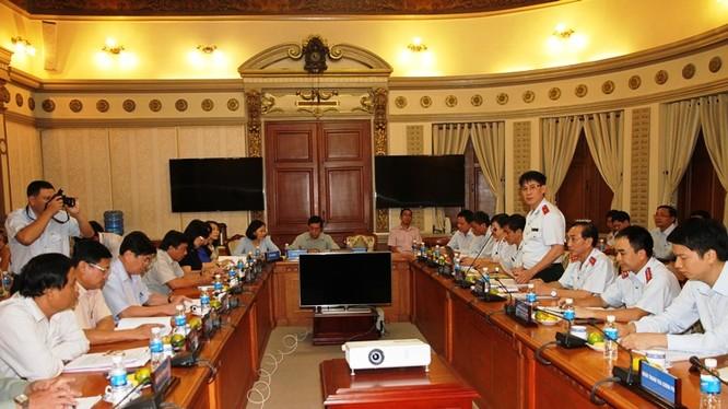 Buổi công bố diễn ra tại trụ sở UBND TP. HCM (Ảnh: Thanhtra.gov.vn)
