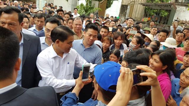 Ngày 20/4, Thanh tra Hà Nội đã công bố Quyết định thanh tra toàn diện việc quản lý, sử dụng, quá trình xử lý đối với diện tích đất khu sân bay Miếu Môn thuộc xã Đồng Tâm.