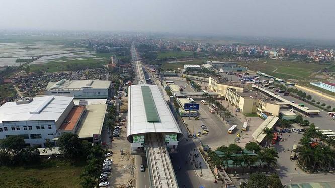 Tuyến đường sắt đô thị Cát Linh - Hà Đông là dự án trọng điểm, tuy nhiên đã chậm tiến độ trong thời gian dài.