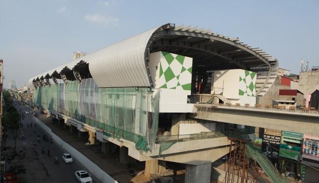Dự án ĐSĐT Cát Linh - Hà Đông và Nhổn - Ga Hà Nội đều chậm tiến độ thực hiện.