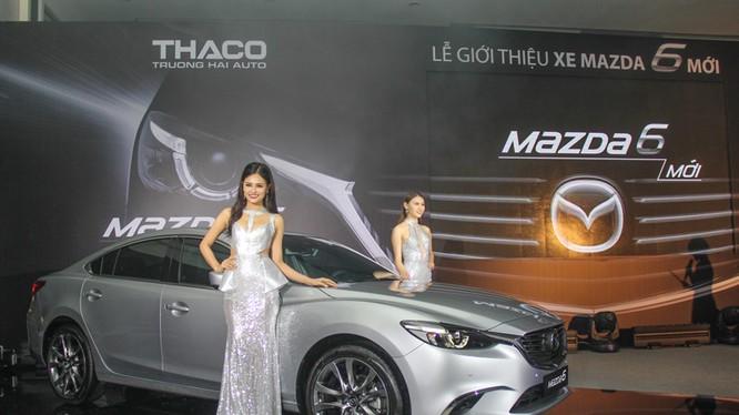 Buổi ra mắt Mazda6 của Thaco diễn ra trước đó.