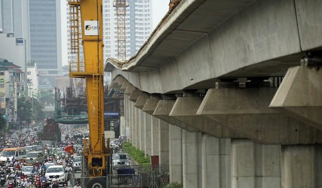 Tổng mức đầu tư các tuyến đường sắt đô thị Hà Nội dự kiến khoảng 40,056 tỷ USD.