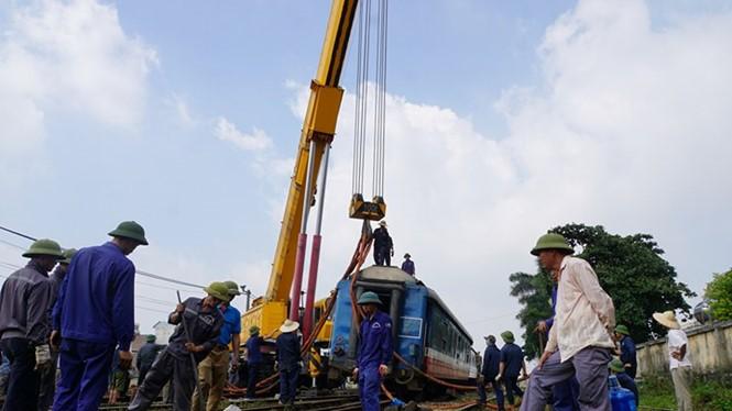 Liên tiếp 2 ngày xảy ra trật bánh tàu hỏa tại ga Yên Viên. (Ảnh minh họa, nguồn Tiền phong)