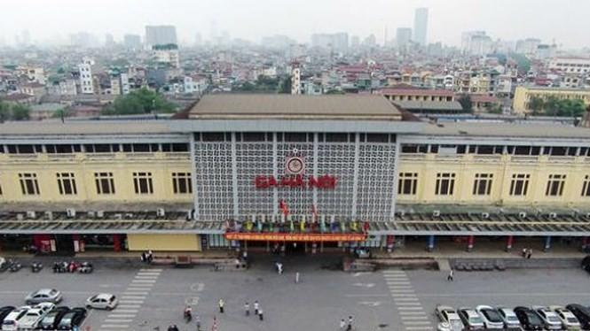 Hà Nội đề xuất xây lại ga Hà Nội và khu vực lân cận.
