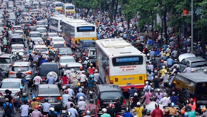 Đề án về giao thông sẽ được Hà Nội khẩn trương xây dựng - Ảnh: Kinh tế đô thị