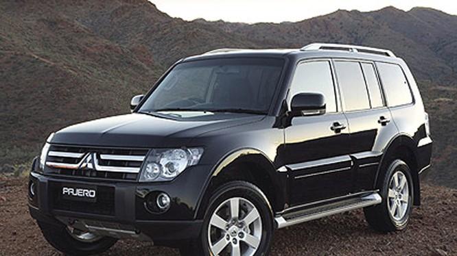 Mẫu SUV Mitsubishi Pajero được giảm 214 triệu đồng - Ảnh: Vietnamnet