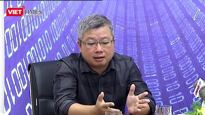 Ông Nguyễn Thanh Lâm -- Cục trưởng Cục Phát thanh truyền hình và thông tin điện tử - Bộ TT&TT. Ảnh: Minh Quang
