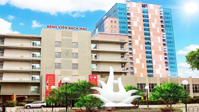 Phê duyệt nhiệm vụ Quy hoạch chi tiết Bệnh viện Bạch Mai - Ảnh: Bệnh viện Bạch Mai.
