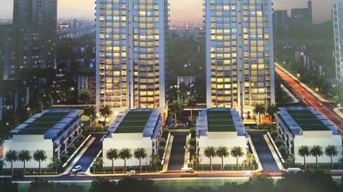 Thống Nhất Complex là dự án có chủ đầu tư là Công ty TNHH Thống Nhất - Bắc Việt - Ảnh: đồ hoạ dự án.