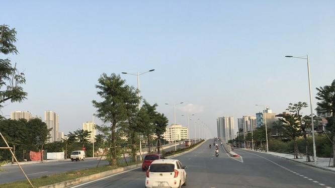 Thanh tra Chính phủ phát hiện nhiều sai phạm tại dự án BT đường Lê Đức Thọ - Xuân Phương do Tasco thực hiện - Ảnh: Q.V